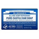 Dr. Bronner's All-One Hemp Pure-Castile Bar Soap, Peppermint