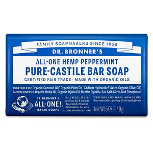 Dr. Bronner's All-One Hemp Pure-Castile Soap, Peppermint