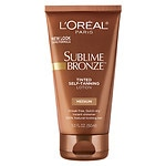 L'Oreal Sublime Bronze Self-Tanning Lotion, Medium Natural