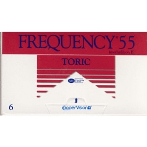 Frequency 55 Toric Contact Lens-6 lenses per Box