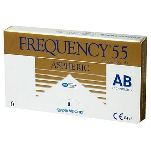 Frequency 55 Aspheric Contact Lens-6 lenses per Box