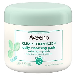 Aveeno Clear Complexion Daily Cleansing Pads&nbsp;