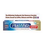 Plus White Coffee Drinkers' Whitening Toothpaste- 3.5 oz