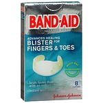 Band-Aid Advanced Healing Blister for Fingers & Toes, Cushions- 8 ea