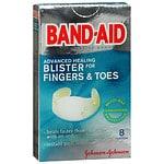 Band-Aid Advanced Healing Blister Gel Guard for Toes, Cushions- 8 ea