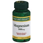 Nature's Bounty High Potency Magnesium 500mg, Tablets