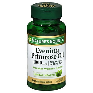 Nature's Bounty Evening Primrose Oil 1000mg, Softgels