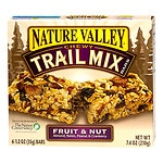 Nature Valley Chewy Trail Mix Bars, Fruit and Nut, 6 pk- 1.23 oz