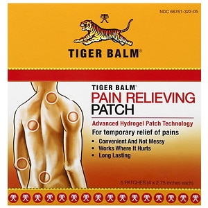 Tiger Balm Pain Relieving Patch- 5 ea