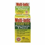 Multi-betic Multivitamin, Advanced Diabetic Formula, Tablets