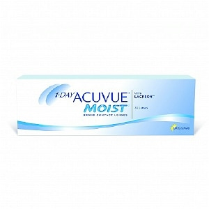 1-Day Acuvue Moist 30 Pk Contact Lens-30 ea