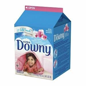 downy ultra fabric softener refill, 40 loads, april fresh, 34 fl oz