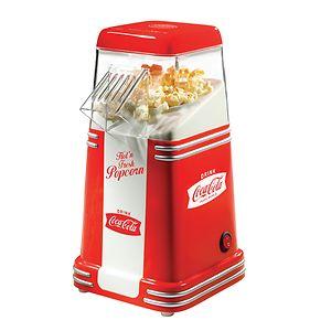nostalgia electrics rhp310coke coca-cola series mini hot air popcorn popper, 1 ea