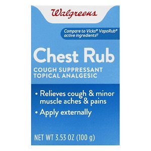 Walgreens Vapor Chest Rub Drugstore Com